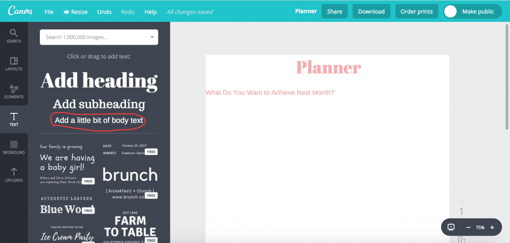 how to create worksheets and workbooks using canva
