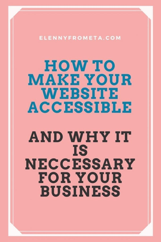 How to make your website accessible and easy to navigate
