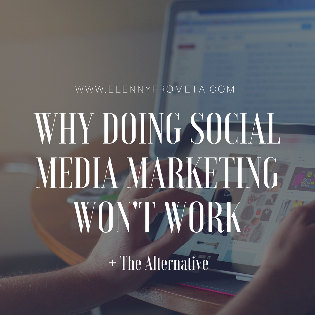 Why Doing Social Media Marketing Won't Work