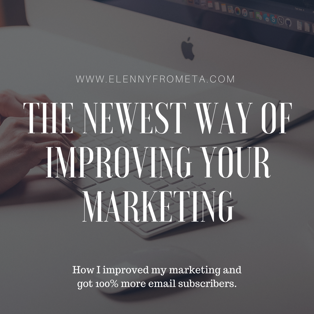 The Newest Way of Improving Your Marketing