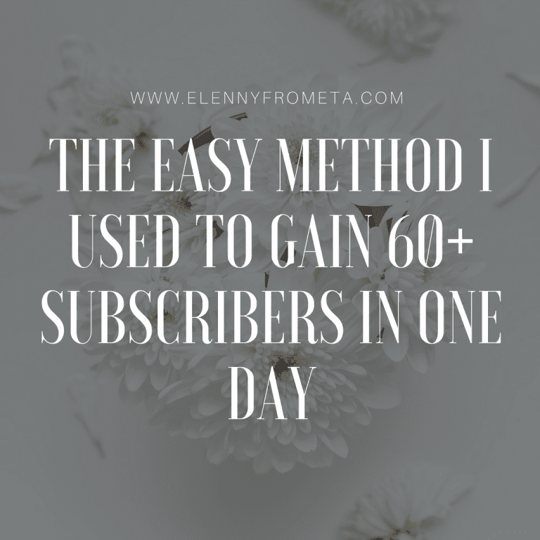 how to get over sixty email subscribers, email subscribers, organic traffic, content upgrade