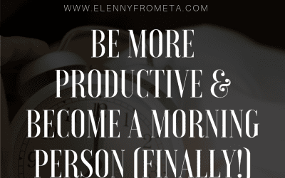 Be More Productive & Become a Morning Person (FINALLY!)