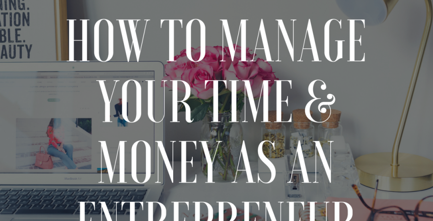 manage time and money
