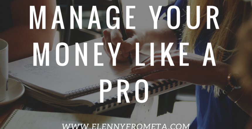 manage your money like a pro